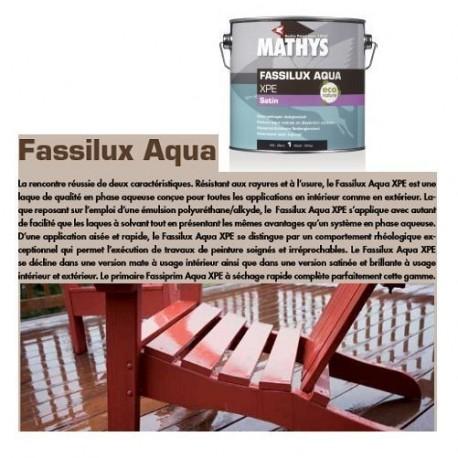 FASSILUX AQUA XPE SATIN 1L - 2.5L - MATHYS