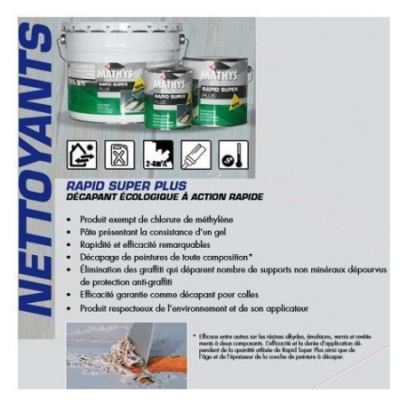 RAPID SUPER PLUS 1L - 2.5L - MATHYS
