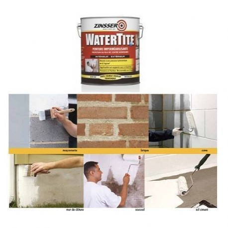 ZINSSER WATERTITE 3.75L - 10L - MATHYS
